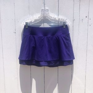 Athleta Layered Running Skort